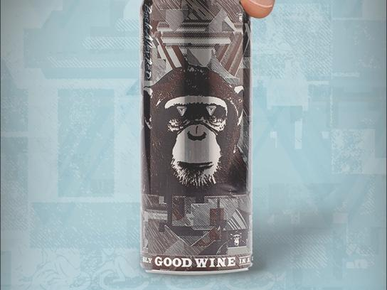 The Infinite Monkey Theorem Print Ad -  Wine opener