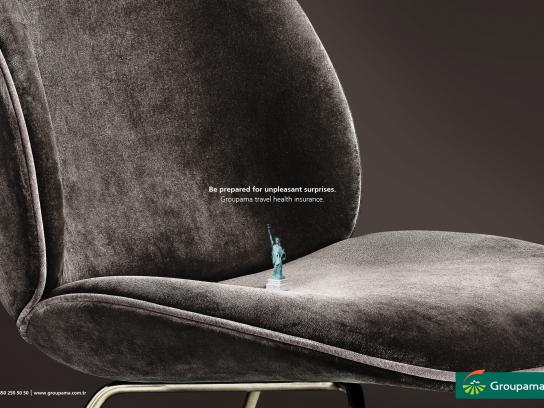 Groupama Print Ad - New York