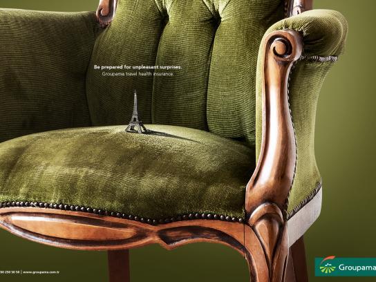 Groupama Print Ad - Paris