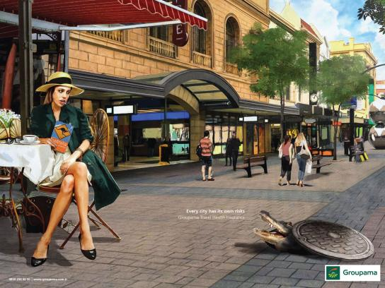 Groupama Print Ad - Australia