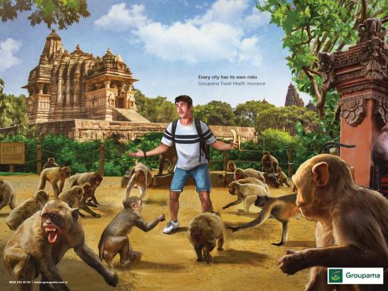 Groupama Print Ad - India