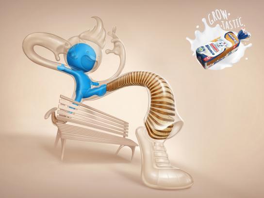 Bimbo Bakeries Print Ad - Jump