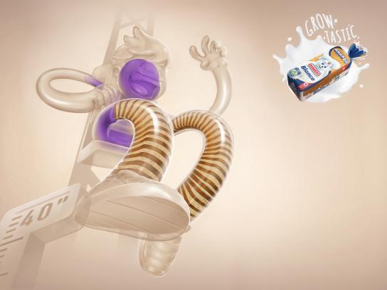 Bimbo Bakeries Print Ad - Roller Coaster