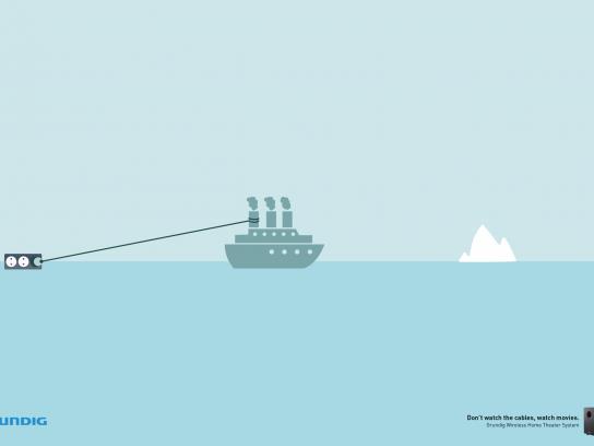 Grundig Print Ad -  Titanic