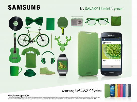 Samsung Print Ad -  Green