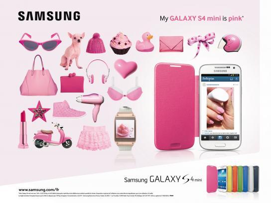 Samsung Print Ad -  Pink