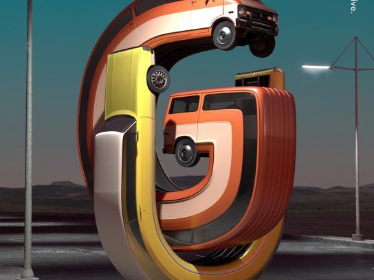 Movistar Print Ad -  Cars, 1