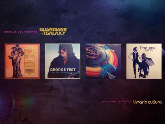 Livraria Cultura Print Ad - Guardians of the Galaxy