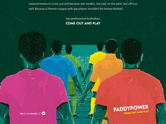 Paddy Power Print Ad - Guardian