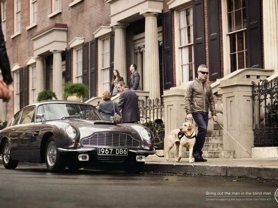 International Guide Dog Federation Print Ad -  Car