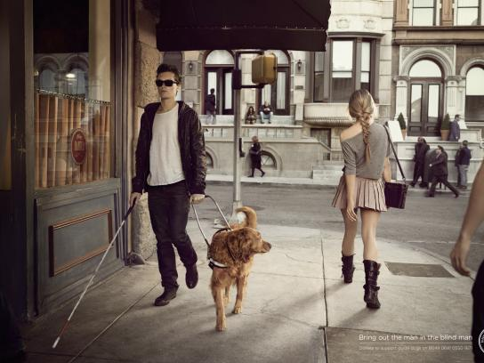 International Guide Dog Federation Print Ad -  Girl