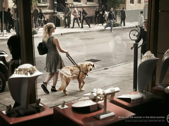 International Guide Dog Federation Print Ad -  Jewelery
