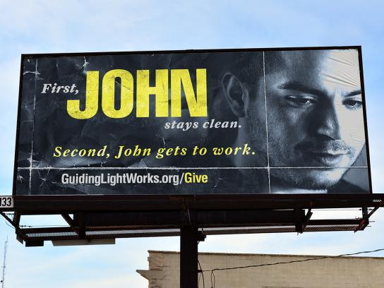 Guiding Light Outdoor Ad - John