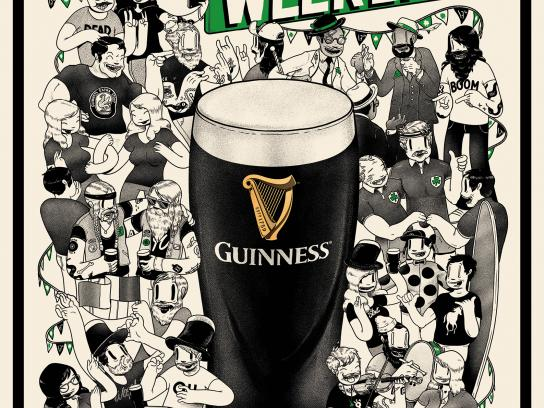 Guinness Design Ad - Let's Get Together