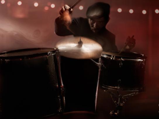 Guinness Print Ad -  Drummer