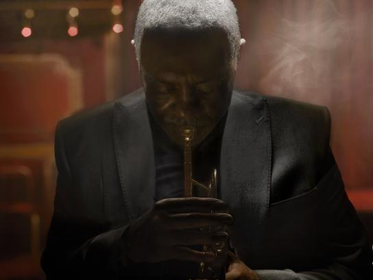 Guinness Print Ad -  Trumpeter