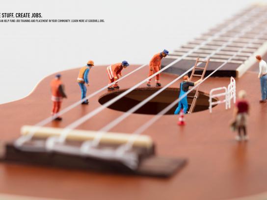 Goodwill Print Ad - Guitar