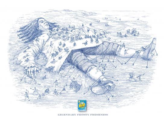 Myth Print Ad -  Gulliver