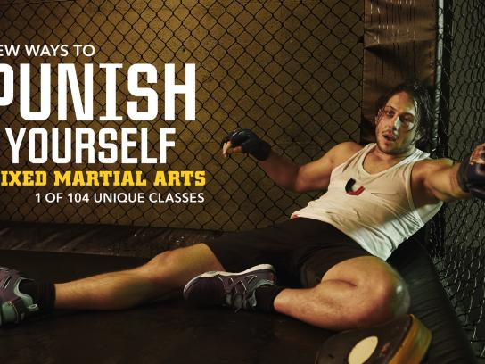 Gymbox Outdoor Ad -  New ways, 2