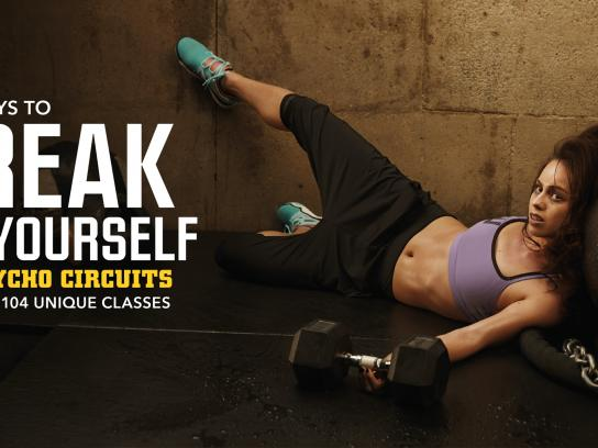 Gymbox Outdoor Ad -  New ways, 3
