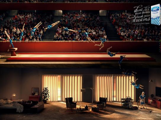 Saudia Outdoor Ad -  Gymnastics