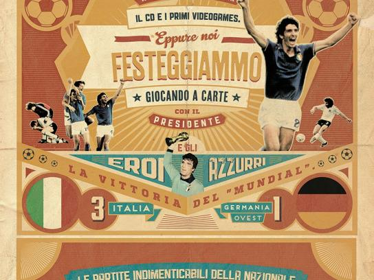 La Gazzetta dello Sport Print Ad -  The unforgettable matches of the Italian National Team, 2