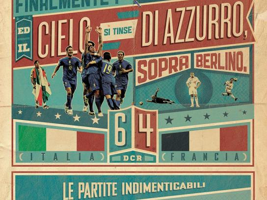 La Gazzetta dello Sport Print Ad -  The unforgettable matches of the Italian National Team, 3