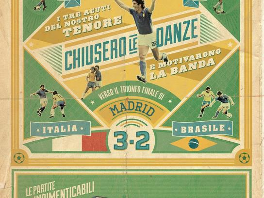 La Gazzetta dello Sport Print Ad -  The unforgettable matches of the Italian National Team, 4