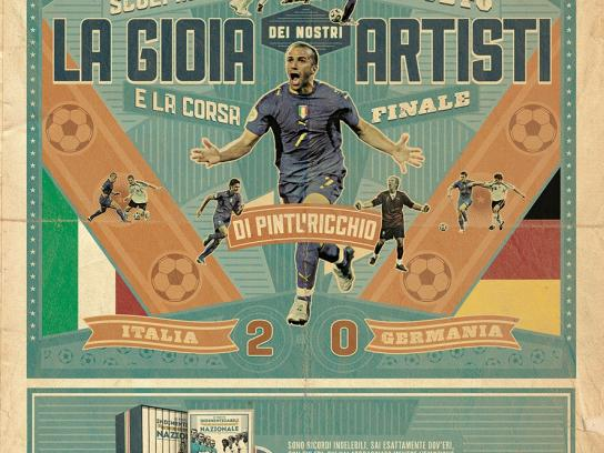 La Gazzetta dello Sport Print Ad -  The unforgettable matches of the Italian National Team, 5