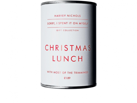 Harvey Nichols Outdoor Ad -  Christmas, Lunch