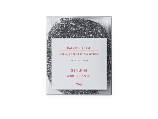 Harvey Nichols Outdoor Ad -  Christmas, Wire Sponge