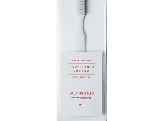 Harvey Nichols Outdoor Ad -  Christmas, Toothbrush