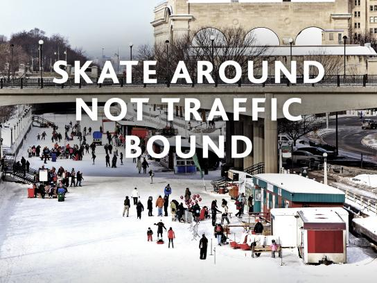 Air Canada Outdoor Ad - Skate