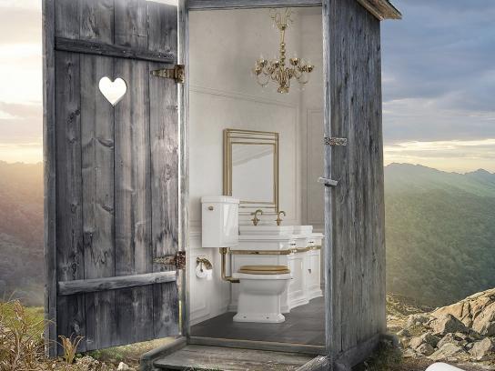 Hakle Print Ad -  Toilet, 3