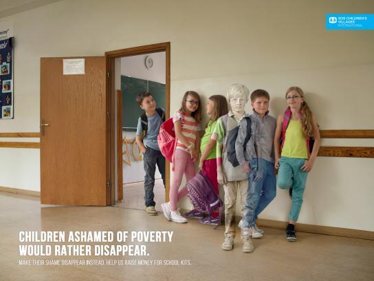 SOS Children's Villages Print Ad -  Hall
