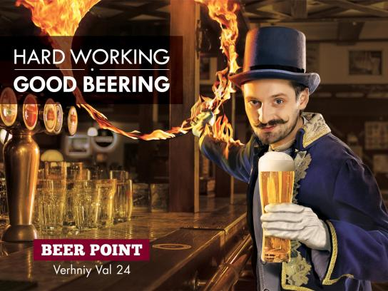 Pub Beer Point Outdoor Ad -  Handler