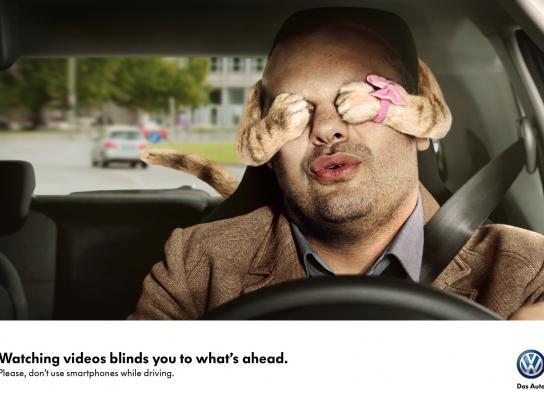 Volkswagen Print Ad -  Hands, 2