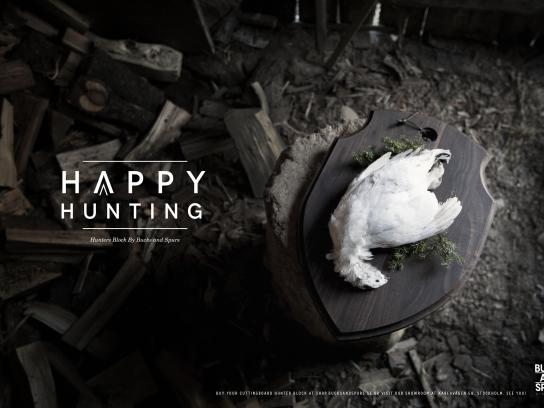 Bucks And Spurs Print Ad - Happy Hunting, 3