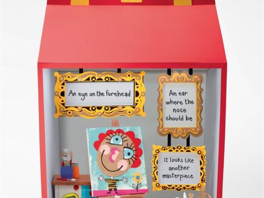 McDonald's Print Ad -  Crayola