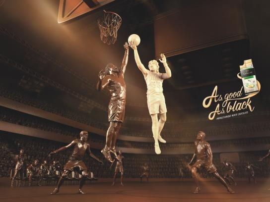 Harald Unique Print Ad - Basketball