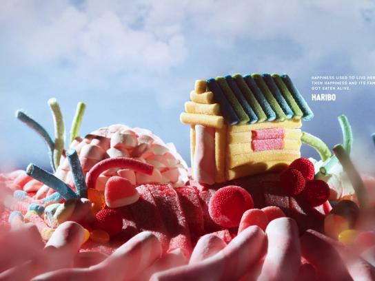 Haribo Outdoor Ad - Happiness