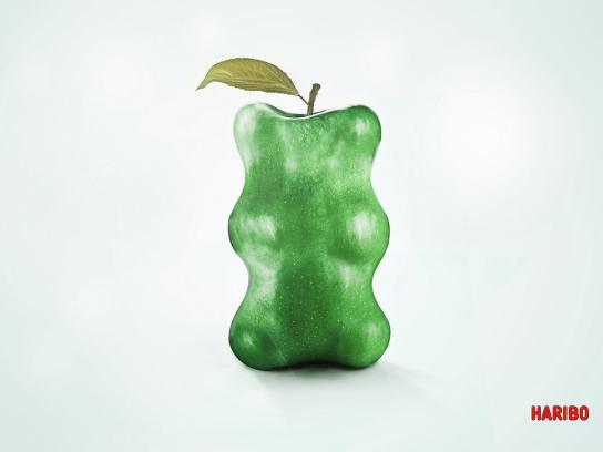Haribo Print Ad -  Apple