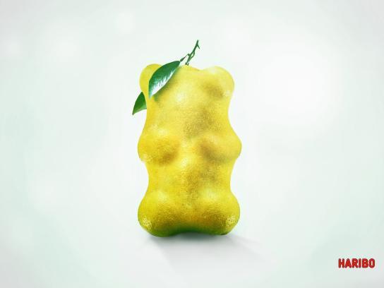 Haribo Print Ad -  Lemon