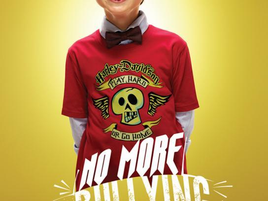 Harley-Davidson Print Ad -  No more bullying, 1