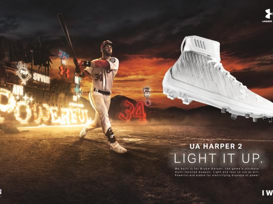 Under Armour Print Ad - Bryce Harper Signature Cleat, 1