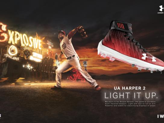 Under Armour Print Ad - Bryce Harper Signature Cleat, 2
