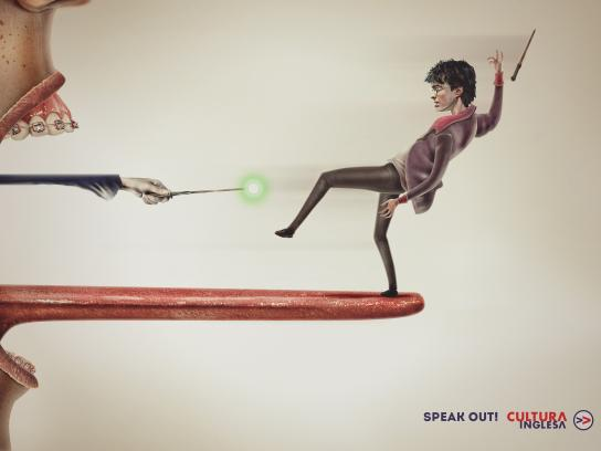 Cultura Inglesa Print Ad - Harry