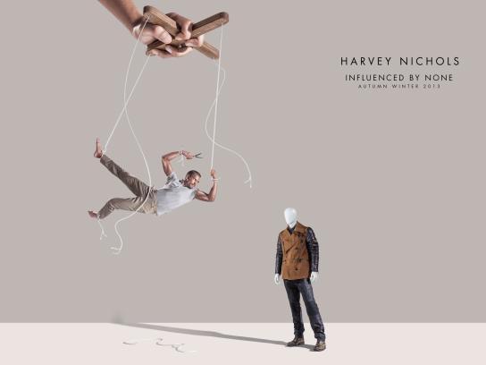 Harvey Nichols Print Ad -  Hang