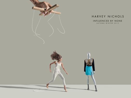 Harvey Nichols Print Ad -  Jump
