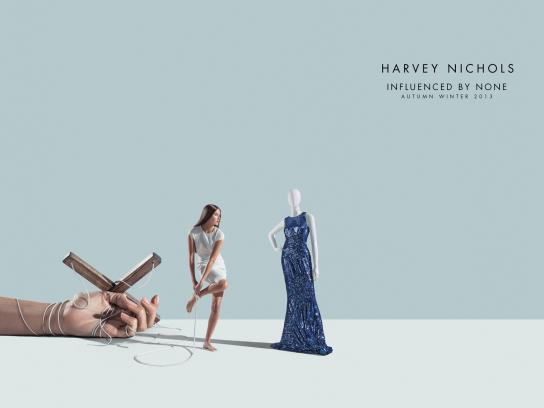 Harvey Nichols Print Ad -  Untie